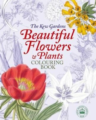 The Kew Gardens Colouring Book 9781784287542 (Paperback, 2017)