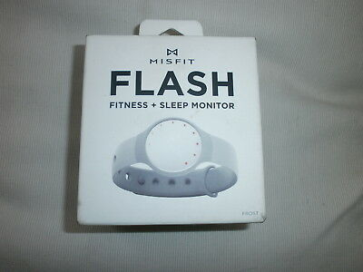 Misfit Flash Fitness + Sleep Monitor Frost NEW SEALED