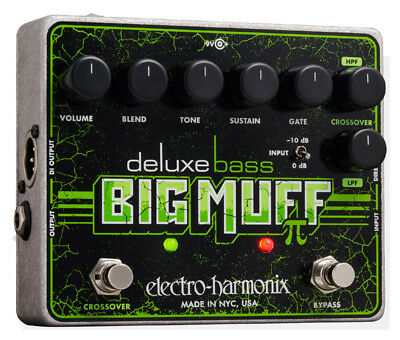 Electro Harmonix Deluxe Bass Big Muff Pi Effects Pedal (NEW)