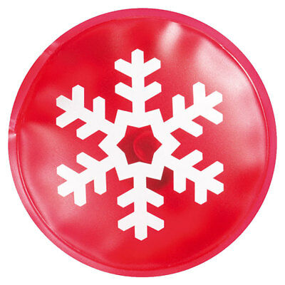 2-25 X Red Reusable Christmas Instant Heat Packs Winter Hand Warmers Snowflake