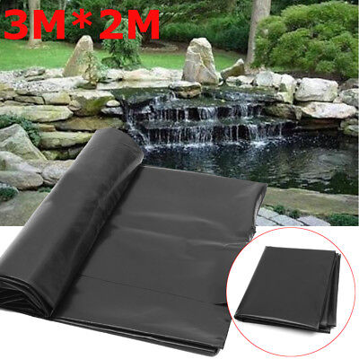 118'' x  79'' Fish Pond Liner Gardens Pools HDPE Membrane Reinforced Landscaping