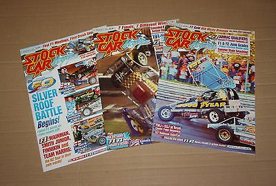 Stock Car Magazine x 3, 2010 (April, May, June)