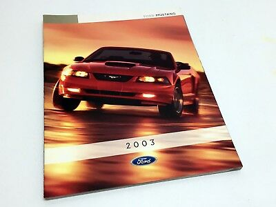2003 Ford Mustang Brochure