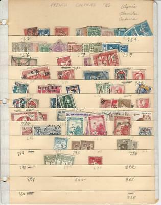 Algeria Lot on Stock Page, Many Nice Stamps To Pick Through