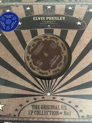 "ELVIS PRESLEY 'US EP Collection No. 1' 10"" ltd edition EP Vinyl NEW SEALED 2017"