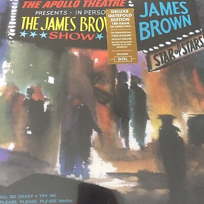 JAMES BROWN 'Live At The Apollo' DELUXE GATEFOLD 180 VINYL LP / NEW SEALED