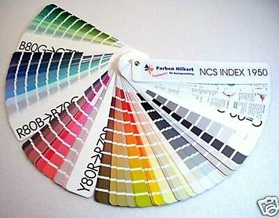 NCS Index 1950 Color Finder Map Colour Patterns Tones Hardcover