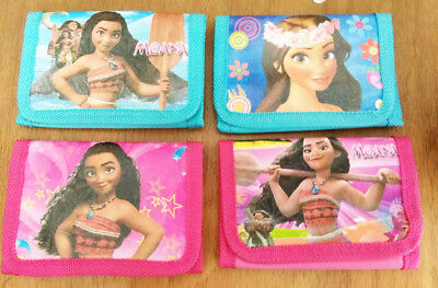 Kids Moana Coin Money Pouch Bag Purses Wallets Xmas Gifts Birthday Gifts