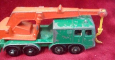 Matchbox- Nº30 Wheel Crane  By Lesney