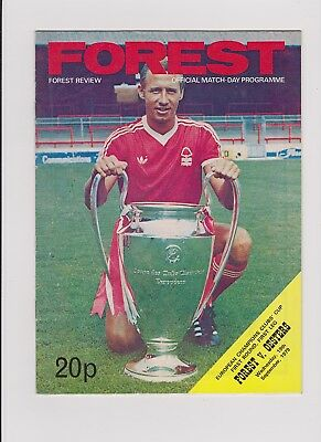 Nottingham Forest v Oesters 1979/80 European Cup
