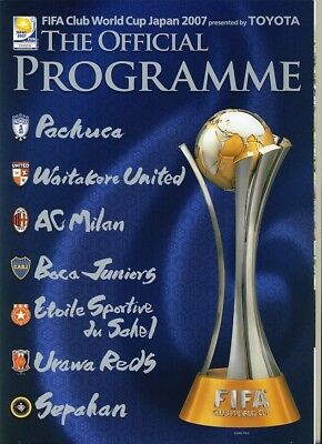 FIFA CLUB WORLD CUP 2007: Official Brochure from Japan