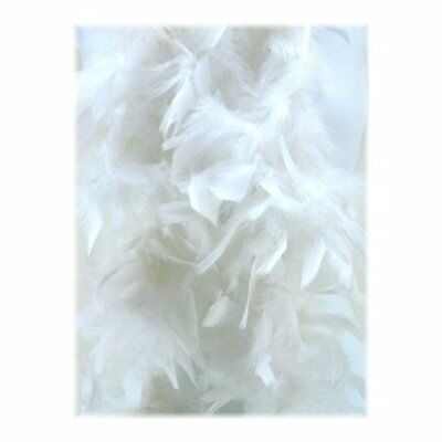 Snow White 6 Foot 60 Gram Feather Boas