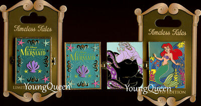 Disney The Little Mermaid Ariel Ursula Hinged Timeless Tales Le Pin