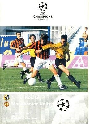 KOSICE v Man Utd (UEFA Champions League) 1997/8