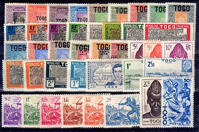 Togo Lot 5 Timbres Neufs *