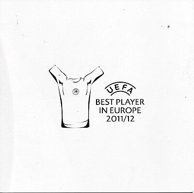 UEFA SUPER CUP 2012 'Best player in Europe' programme