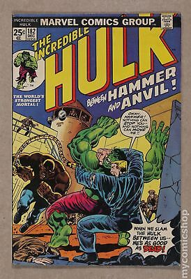 Incredible Hulk (1962-1999 1st Series) #182 VG 4.0