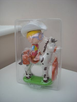 Nestle Milky Bar Kid Figure On Horse New  Brand New Sealed