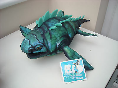 Ice Age 2 The Meltdown – Maelstrom Shark 35Cm Plush Toy Brand New