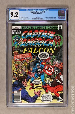 Captain America (1968 1st Series) #217 CGC 9.2 1345575019