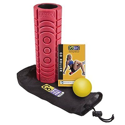 New! GoFit Go-Roller RED Trigger Point Ball Massage Kit Muscle Pain Managment