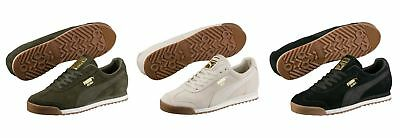 3e0200228c4343 Puma Roma Natural Warmth Unisex Trainers Shoes 364321 Suede Suede OFFER