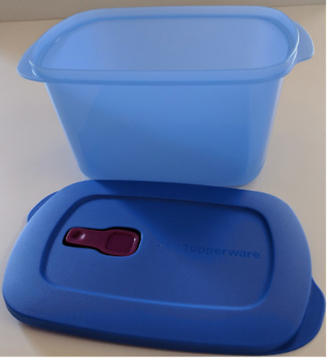 Tupperware Crystalwave Plus Microwave Safe BPA Free Rectangle 9.5 Cup/ 2.3 L New
