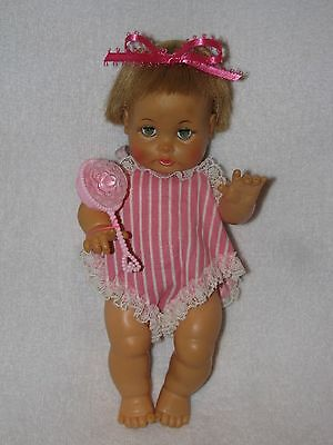 """Vintage 8"""" Ideal Teary Deary Baby Doll"""