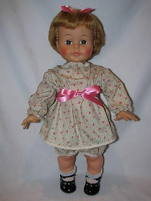 """Cute 22"""" Vintage Ideal Kissy Doll With Box"""