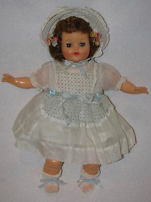 """16"""" Vintage Rubber/Oil Cloth Body Ideal Baby Doll"""