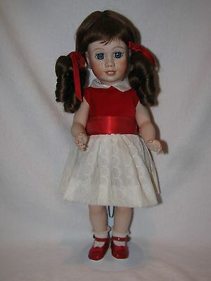 """17"""" Artist Made REPRODUCTION All Porcelain Chatty Cathy Doll"""