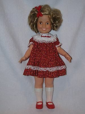 """15"""" Ideal Shirley Temple Doll With Coat & Hat 1972"""