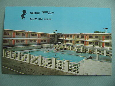 Gallup TraveLodge Motel GALLUP NEW MEXICO NM Vintage Postcard Route 66