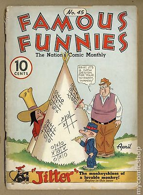 Famous Funnies (1934) #45 FR 1.0