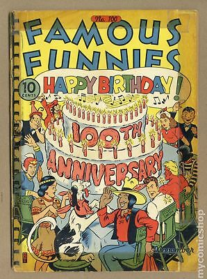 Famous Funnies (1934) #100 FR 1.0