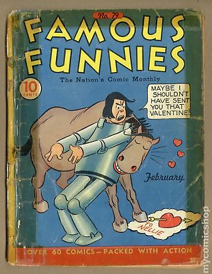 Famous Funnies (1934) #79 FR 1.0