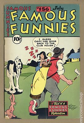 Famous Funnies (1934) #156 GD/VG 3.0