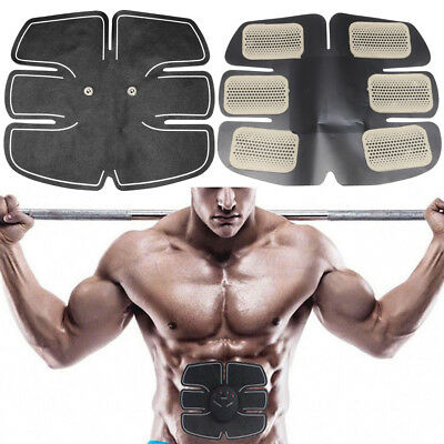 EMS Electrical Muscle Stimulator Six Pad ABS Fit Muscle Training Body Waist Kit