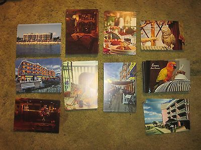 190 BOARDWALK PLAZA Postcards, Rehoboth Beach, DE.. Several Designs,Never Used