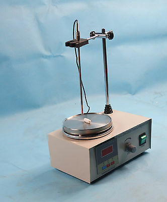 New 85-2Magnetic Stirrer With Hot Plate Digital Heating Mixer 110V Free Shipping