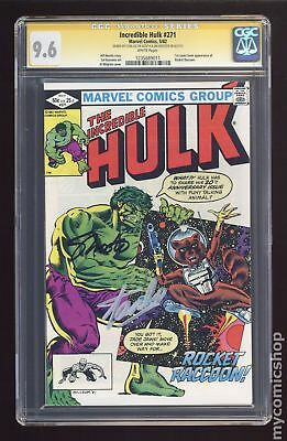 Incredible Hulk (1962-1999 1st Series) #271 CGC 9.6 SS 1235689011