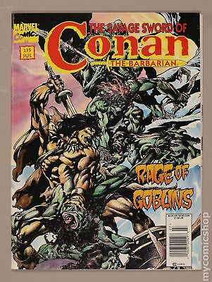 Savage Sword of Conan (1974 Magazine) #235 FN+ 6.5