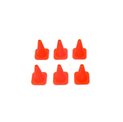 Safety Cones in 1:18 Scale - Pack of 8