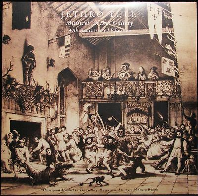 Jethro Tull - Minstrel In The Gallery - Lp Vinyl Reissue 2015 Brand New Sealed