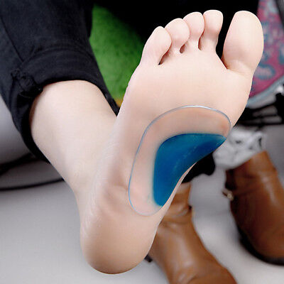 1 Pair Orthotic Arch Support Insole Flat Foot Correction Shoe Cushion Insert Hot