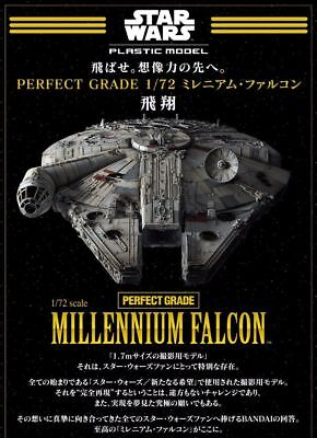 (P) STAR WARS PERFECT GRADE 1/72 Millennium Falcon  BANDAI Japan A6598