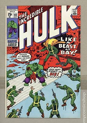 Incredible Hulk (1962-1999 1st Series) #132 FN 6.0