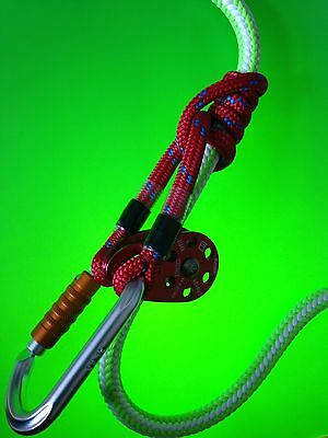 65CM LONG 8mm ROPE PRUSIK for ARBORIST TREE SURGERY CLIMBING..