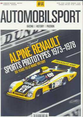 AUTOMOBILSPORT MAGAZINE - ISSUE 14  (NEW/LATEST) *Post included to Europe/USA