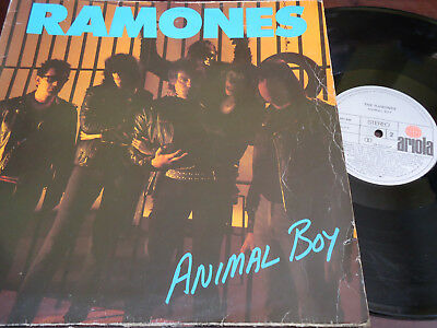 "RAMONES - Animal Boy, LP 12"" SPAIN 1986"